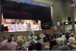 Hunters Hill Community Rally