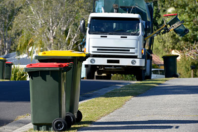 Merged NSW council outsources rubbish and recycling before