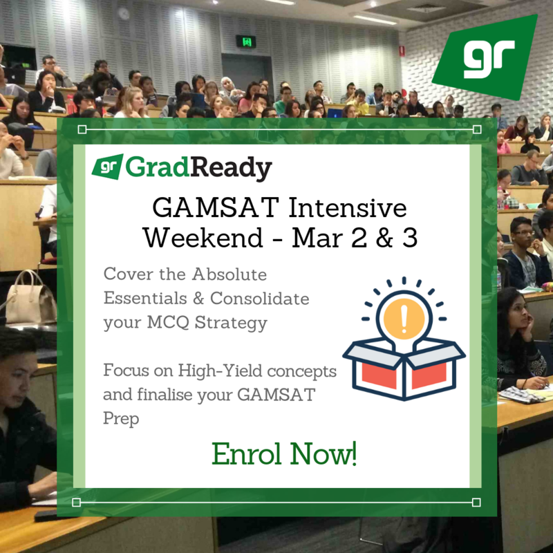 GAMSAT Intensive Weekend