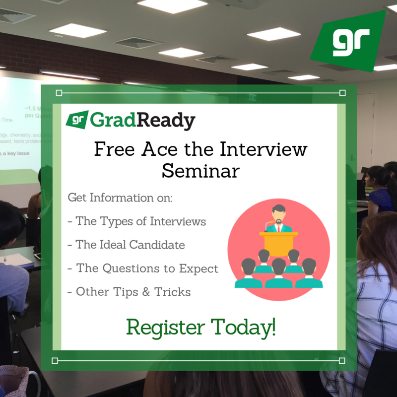 GAMSAT Ace the Interview Seminar