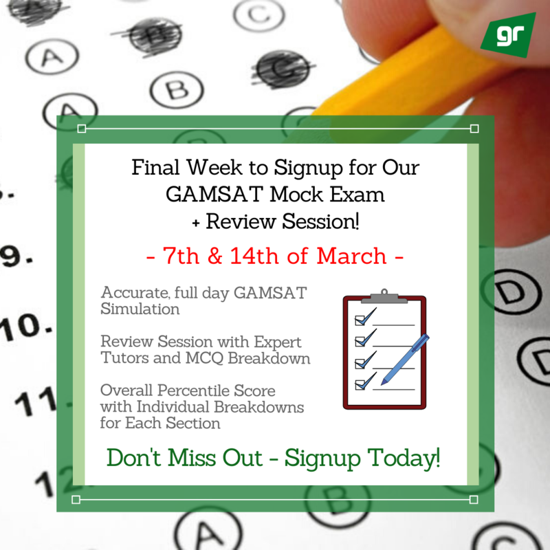 GAMSAT Mock Exam and Review Session