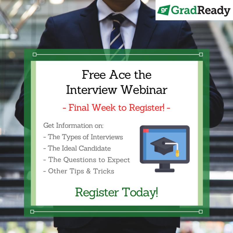GradReady Free Ace the Interview Webinar