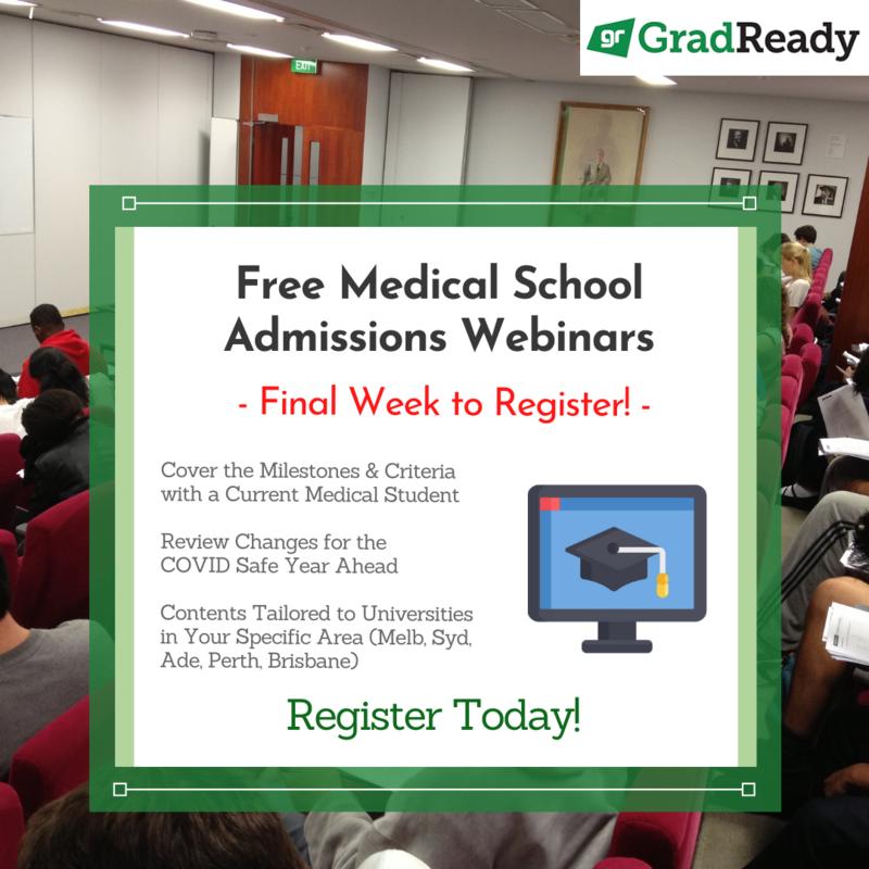 GradReady Medical School Admissions Webinars