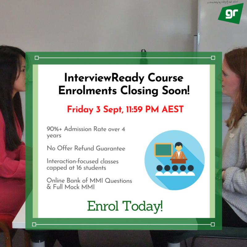 GradReady InterviewReady Course Closing Soon