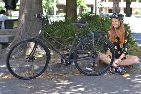 43 molly gibson iamfree bicylce tektro m385 hydraulic disc brake bicycle