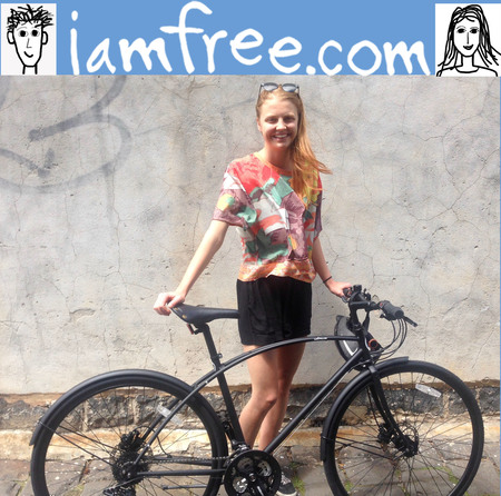 Molly gibson i am free 2016 bicycle custom design frame