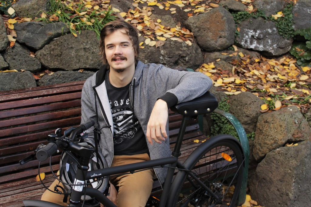 Daniel Westell and i am free bicycle