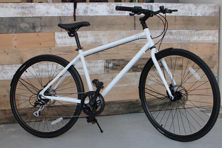 Frame matte white amfree bicycle