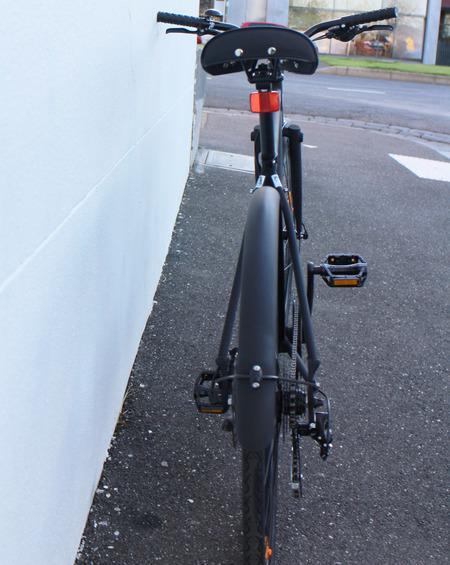 Iamfree bicycle rear view