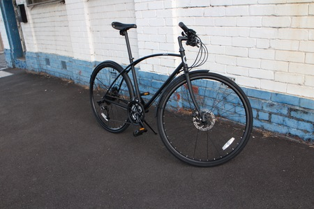Side perspective bicycle 2016 model