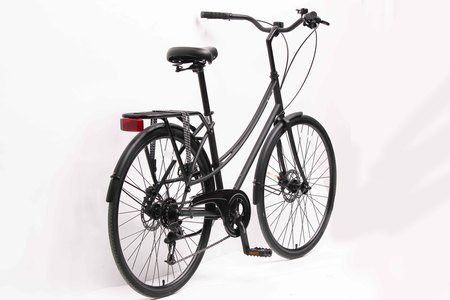 I am free girl bicycle side back