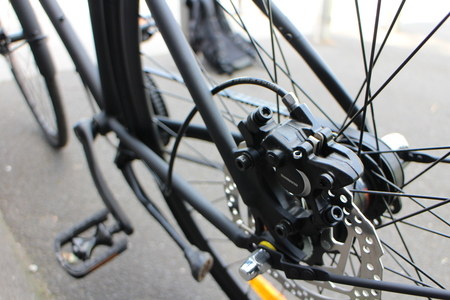 18 shimano hydraulic disc brakes on nexus 3 speed