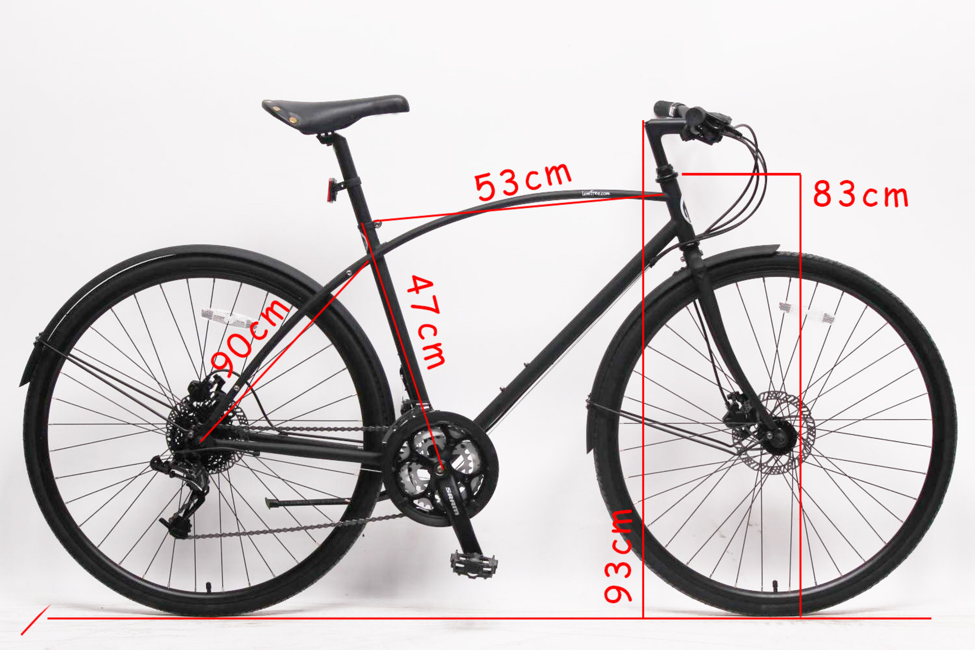 so this bike is priced at 395 this is a result of it and after lots of negotiations with the factory and if you decided to purchase this bicycle please