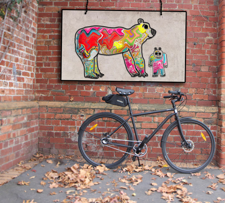 Bears and iamfree bicycle