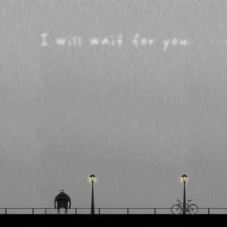 I will wait bicycle
