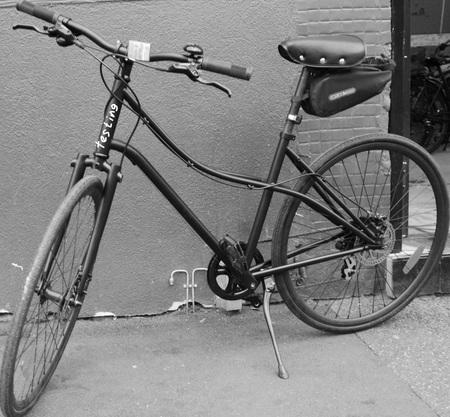 The testing bike
