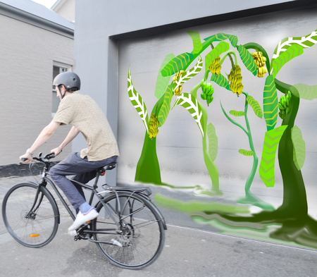 Dom cartoon trees and i am free bicycle
