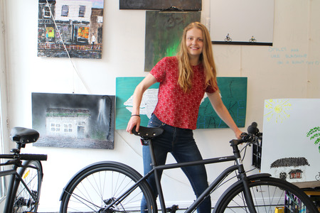 6 molly gibson with iamfree bicycle