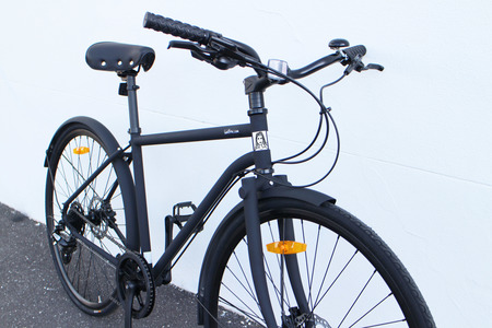 Iamfree bicycle front driveside