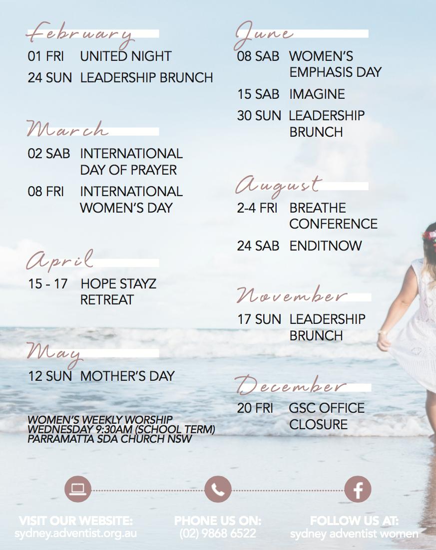 Adventist Women - Adventist Church in Sydney