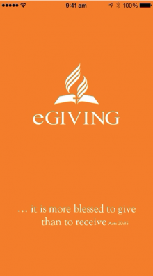 eGiving App