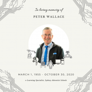 In Memory of Peter Wallace