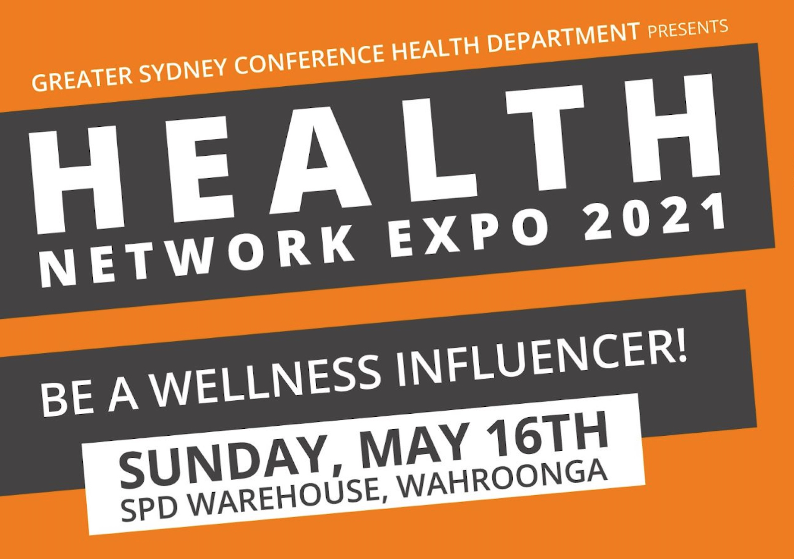 Wholistic HEALTH Network Expo 2021 - Sydney NSE