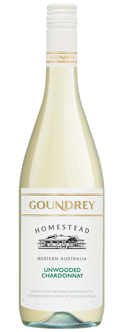 Goundrey Homestead Western Australia Unwooded Chardonnay 2019