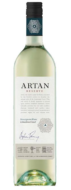 Artan Reserve Limestone Coast Sauvignon Blanc 2015