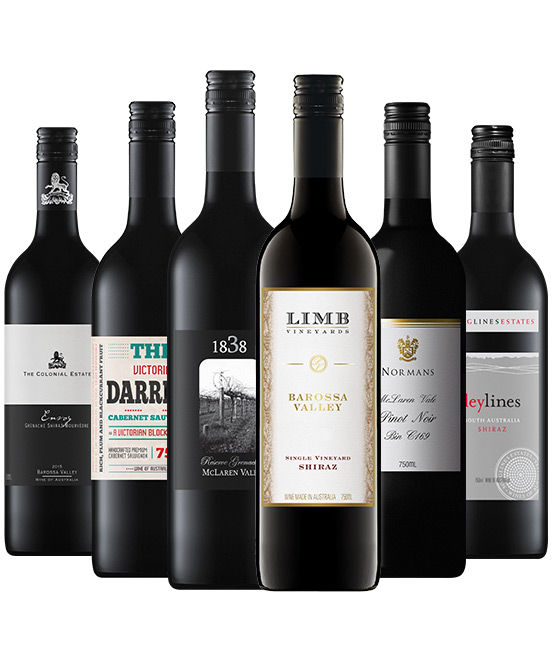The Essentials Red Wine Mixed 6pack