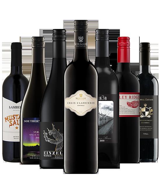 Boss Mans Best Red Wine Mixed Dozen