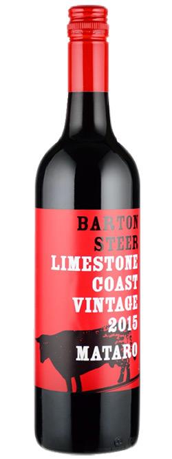 Barton Steer Limestone Coast Mataro 2015