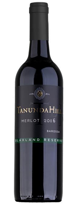Tanunda Hill Reserve Barossa Valley Merlot 2016