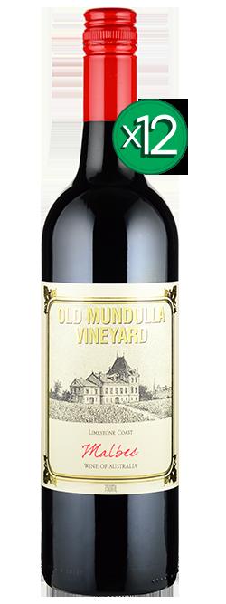 Old Mundulla Vineyard Limestone Coast Malbec 2017 Dozen
