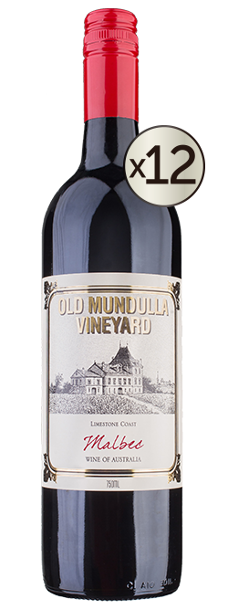 Old Mundulla Vineyard Limestone Coast Malbec 2018 Dozen