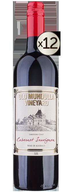 Old Mundulla Vineyard Limestone Coast Cabernet Sauvignon 2019 Dozen