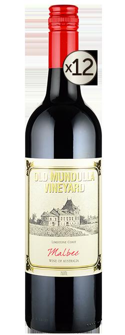 Old Mundulla Vineyard Limestone Coast Malbec 2019 Dozen