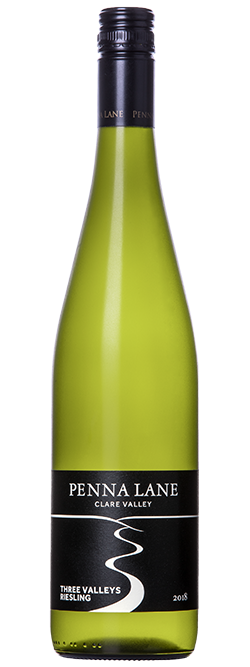 Penna Lane Three Valleys Clare Valley Riesling 2018
