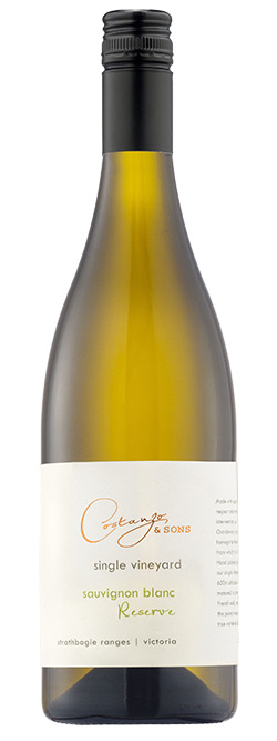 Costanzo & Sons Reserve Single Vineyard Strathbogie Ranges Sauvignon Blanc 2016