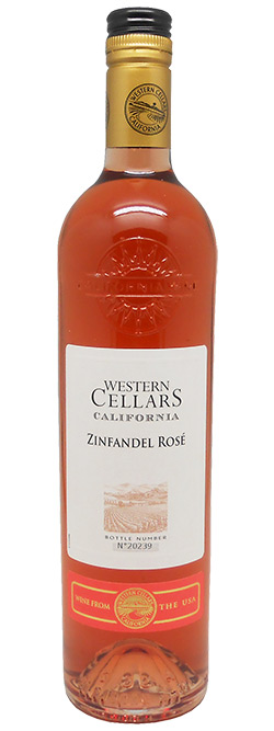 Western Cellars California Zinfandel Rose 2016