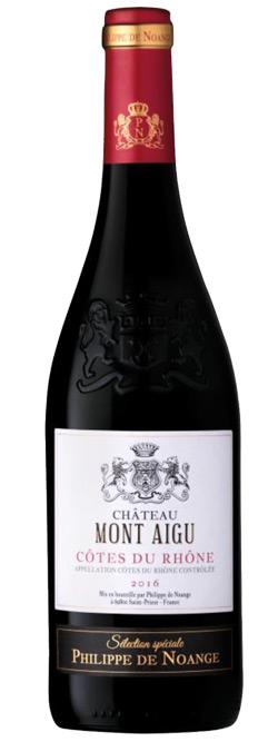 Philippe De Noange Chateau Mont Aigu Cotes Du Rhone 2016