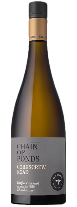 Chain of Ponds The Corkscrew Road Adelaide Hills Chardonnay 2017