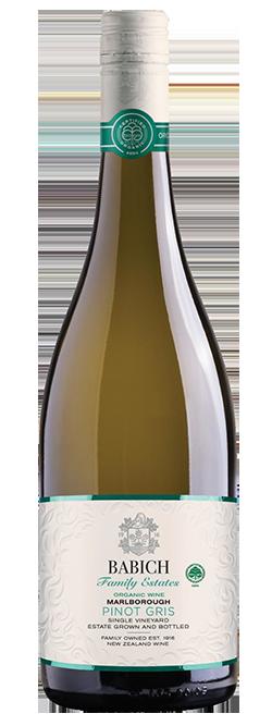 Babich Headwater Estate Organic Marlborough Pinot Gris 2017