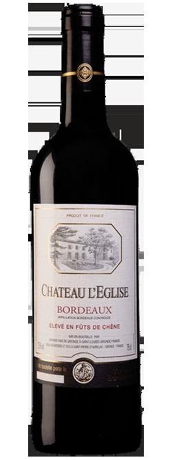 Chateau LEglise Bordeaux Cabernet Merlot 2018