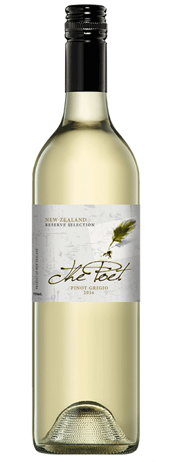 The Poet New Zealand Pinot Grigio 2016