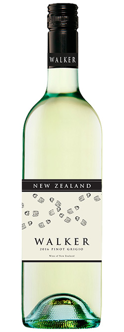 Walker New Zealand Pinot Grigio 2016