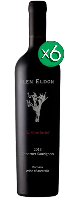 Glen Eldon Old Vine Series Barossa Valley Cabernet Sauvignon 2013 6pack