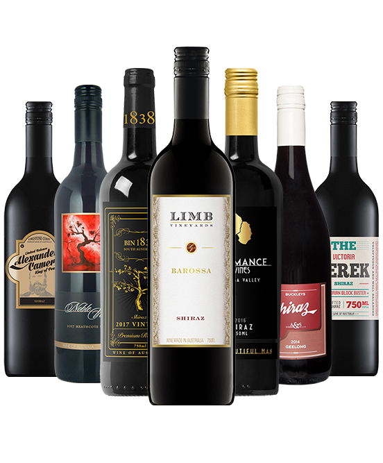 $120 Shiraz Mixed Dozen
