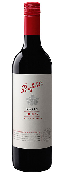 Penfolds Max's South Australian Shiraz 2018