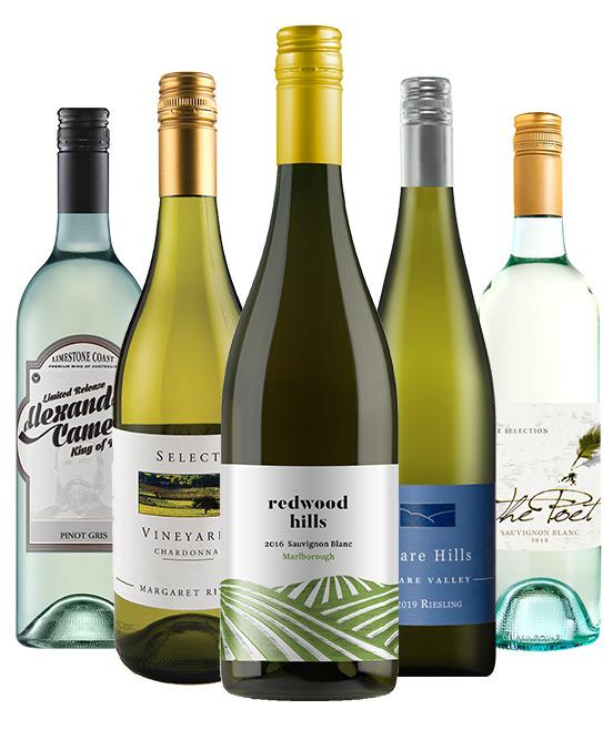$99 White Wine Mixed Dozen